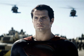 Henry as Clark Kent