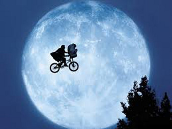 E.T. is a childhood sci-fi classic