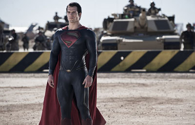 Superman ready for battle