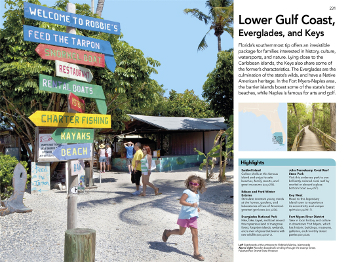 The Family Guide Florida has maps and info for each area