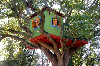 easy kids tree house how to build a treehouse