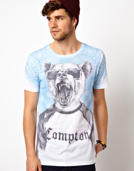 New Look Compton t-shirt, $30