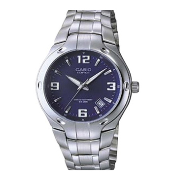 Navy and silver watch, $39.99