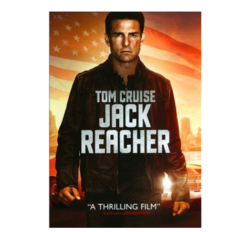 Jack Reacher DVD, $12