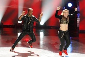 Mariah and BluPrint Performing Hip Hop
