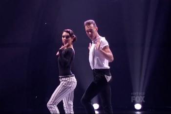 Jenna and Tucker Performing Hip Hop