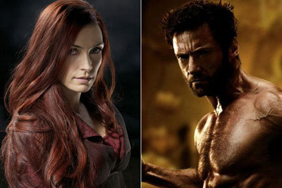 Wolverine and his love Jean Grey