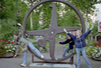 Tourist Cartwheels