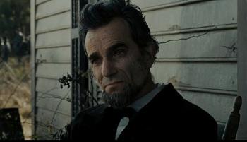 Award-winner Daniel Day-Lewis as Lincoln