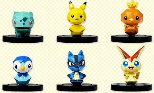 Some of the collectible Pokémon toys!
