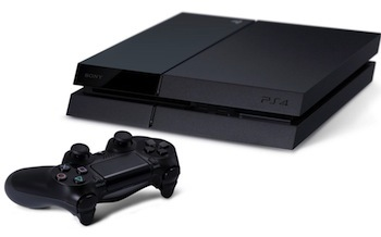 PS4's design is sleek and modern.