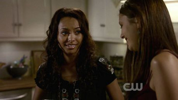 Bonnie and Elena won't let a little magic and some fangs get between them
