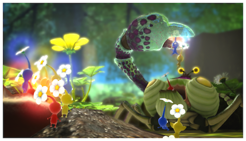 Pikmin 3 on WiiU is gorgeous.
