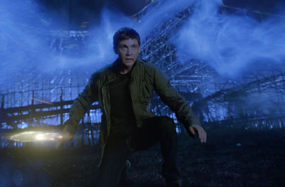 Percy prepares to confront a powerful enemy