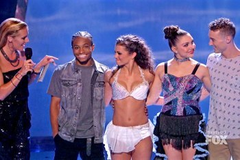 The Bottom 4 Dancers