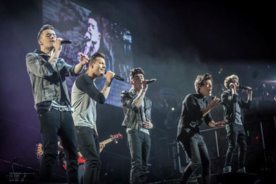The guys performing