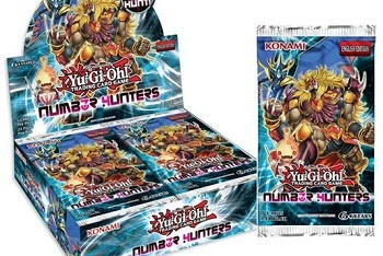 Yu-Gi-Oh! Number Hunters Booster Series