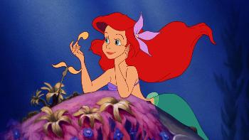 Jodi plays the voice of Ariel, The Little Mermaid