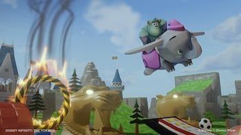 It's the incredible, flying, Dumbo!