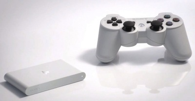 PS Vita TV is about the size of a deck of cards.