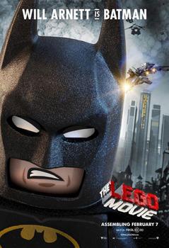 Batman voiced by Will Arnett