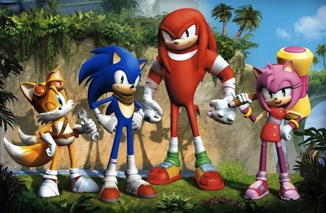 Sonic and crew get a new look. What do you think?
