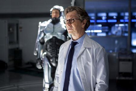 Gary Oldman as scientist Norton