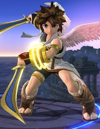 Pit, our winged combatant