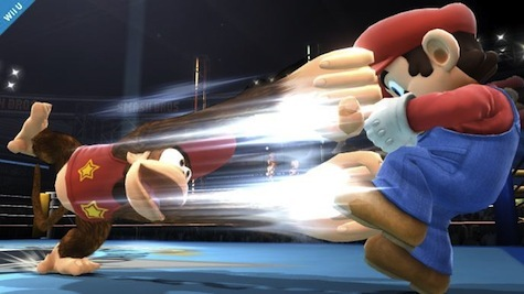 Diddy Kong has got some reach.