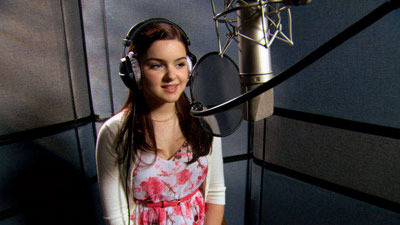 Ariel recording the voice of Penny
