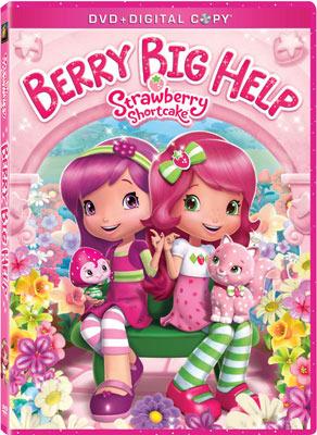 Strawberry Shortcake Berry Big Help DVD