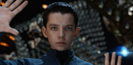 Ender directs a simulation