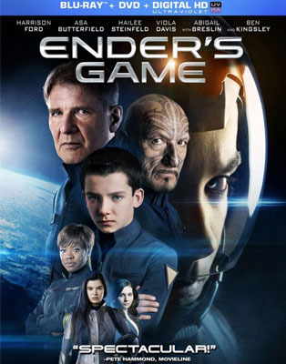 Ender's Game Blu-ray and DVD Cover