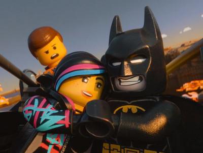 Emmet, Wyldstyle and her BF LEGOBatman
