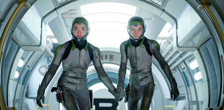 Petra and Ender suited up for the games