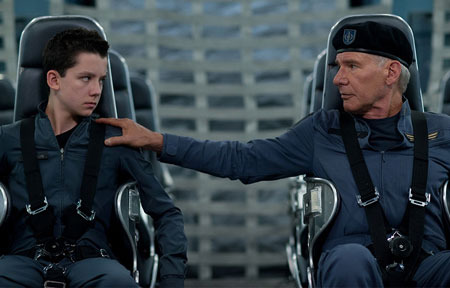 Ender is guided by Colonel Graff