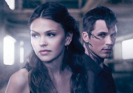 Aimee and Matt as Emery and Roman