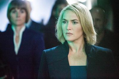 Kate Winslet stars as Erudite leader Jeanine
