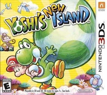 Yoshi's New Island is available now!