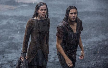 Illa and Shem as the rains start