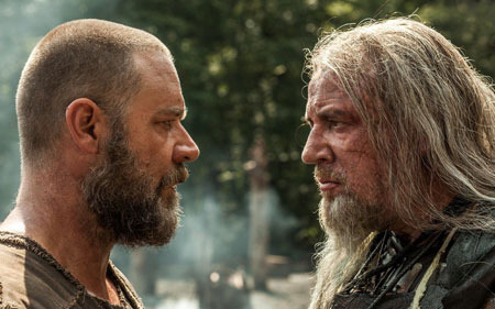 Enemies Noah and Tubal Cain (Ray Winstone)