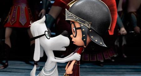 Mr. Peabody tells Sherman to forget being a Trojan War hero