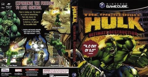 Hulk Smashes on Gamecube, PS2 and Xbox