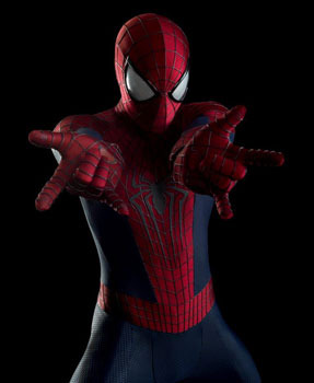 Spider-Man ready to web-sling