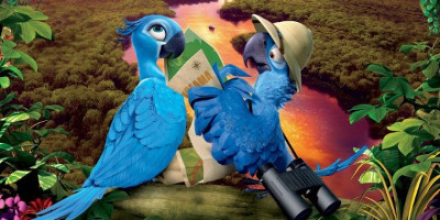 Blu and Jewel leave the big city for the Amazon
