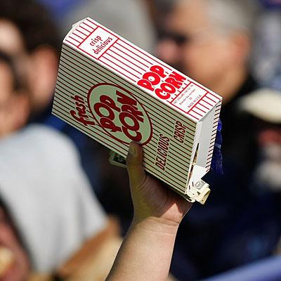 Best Baseball Stadium Foods - Popcorn