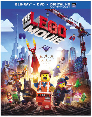 The LEGO Movie Blu-ray and DVD