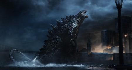 Godzilla comes ashore