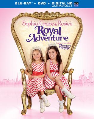 Sophia Grace and Rosies Royal Adventure Blu-ray