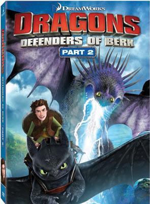 Dragons: Defenders of Berk Part 2 DVD